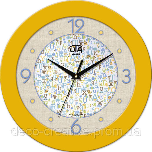 """Годинник настінний ЮТА """"Fashion"""" 330Х330Х45мм 06 FY"""