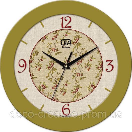 """Годинник настінний ЮТА """"Fashion"""" 330Х330Х45мм 08 FO"""