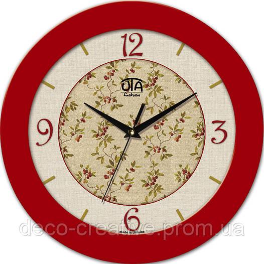 """Годинник настінний ЮТА """"Fashion"""" 330Х330Х45мм 08 FR"""