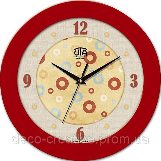 """Годинник настінний ЮТА """"Fashion"""" 330Х330Х45мм 09 FR"""