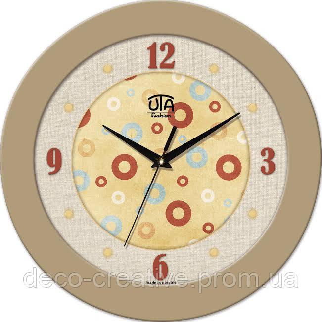 """Годинник настінний ЮТА """"Fashion"""" 330Х330Х45мм 09 FBe"""