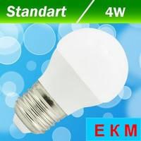 Светодиодная лампа Biom BT-543 G45 4W E27 3000 К