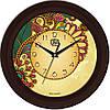"""Годинник настінний ЮТА """"Fashion"""" 330Х330Х45мм 10 FBr"""
