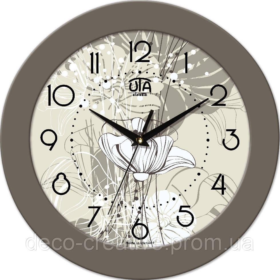 """Годинник настінний ЮТА """"Fashion"""" 330Х330Х45мм 13 FBe"""