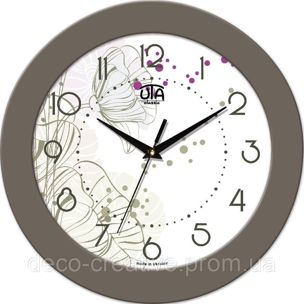 """Годинник настінний ЮТА """"Fashion"""" 330Х330Х45мм 16 FBe"""