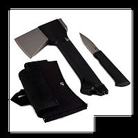 Качественный походный набор Gerber Gator Combo Axe 31-001054. Два в одном. Необходимая вещь. Код: КГ322