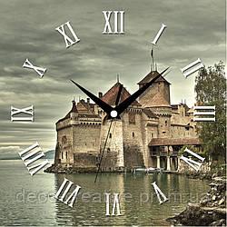 Годинник настінний Туманний замок