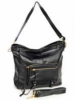 Кожаная женская сумка 6625 Black