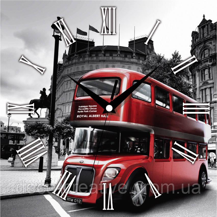 Годинник настінний Лондонський автобус