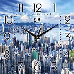 Годинник настінний Мегаполіс