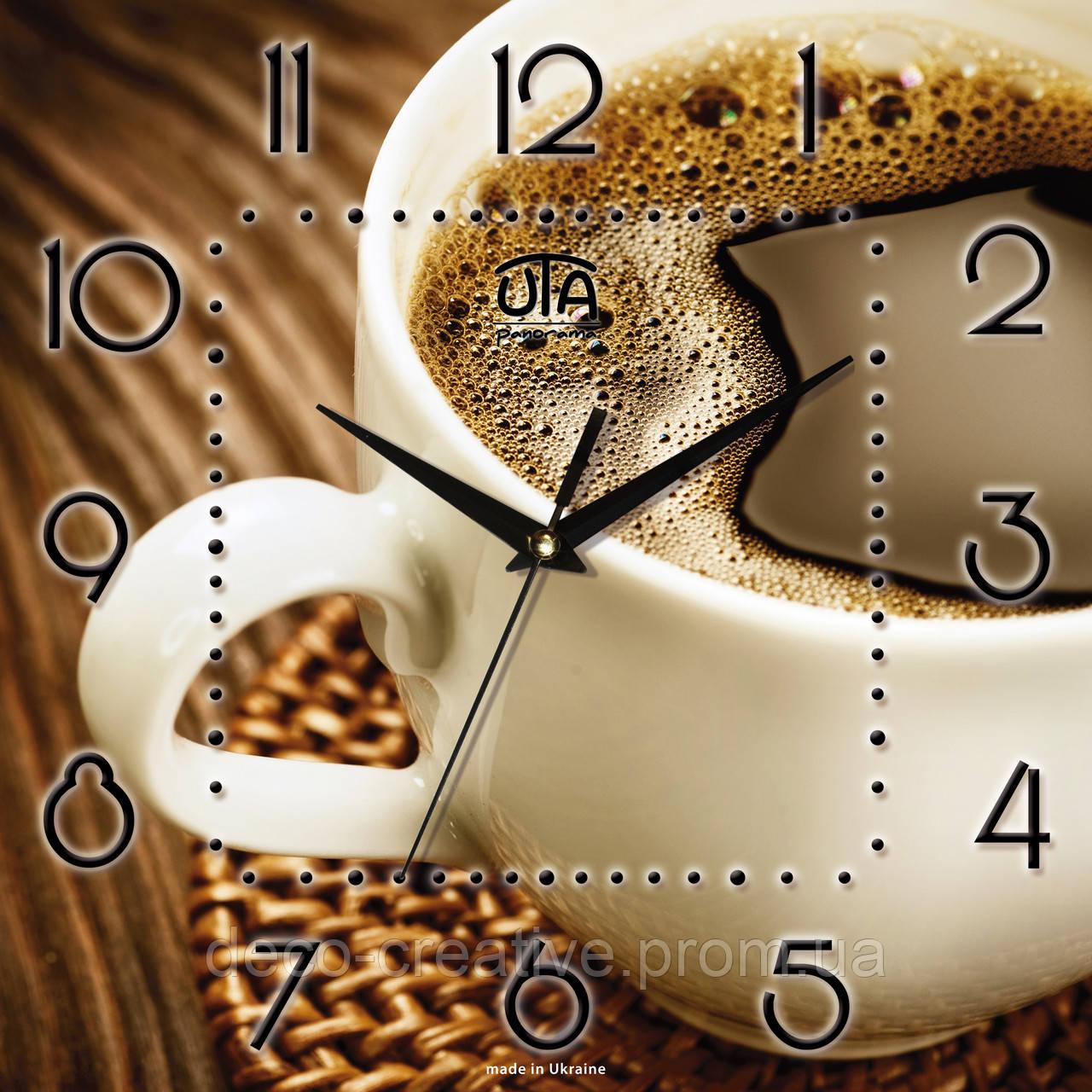 Годинник настінний Філіжанка кави
