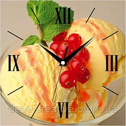Годинник настінний Ніжне морозиво