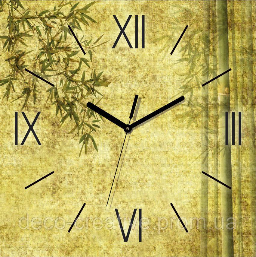 Годинник настінний Бамбук