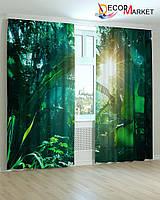 Фотошторы джунгли