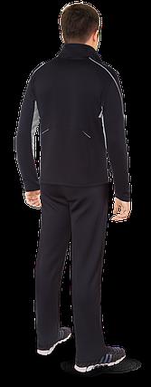 Мужской черный спортивный костюм F50 (р. 46-54) арт. 237D, фото 2