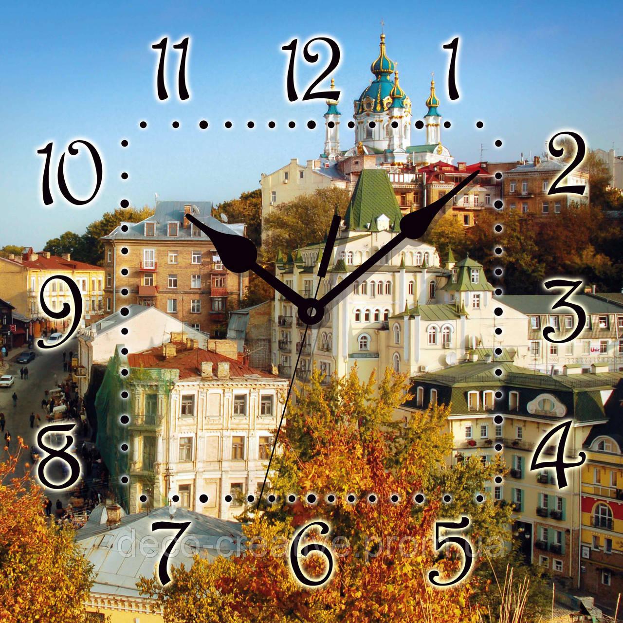 Годинник настінний Андріївський узвіз