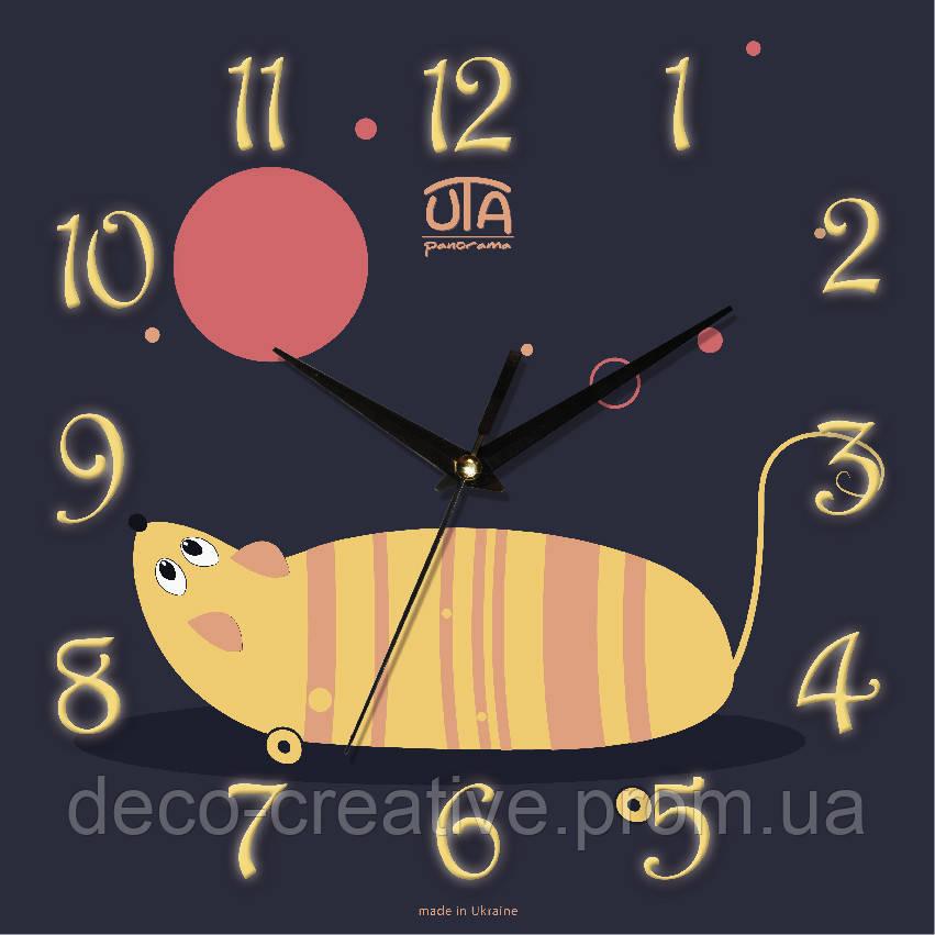 Годинник настінний Іграшкова мишка