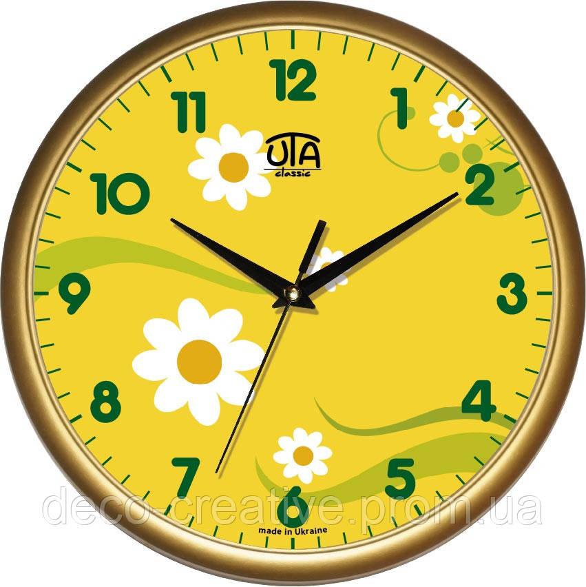 Годинник настінний ЮТА   01 G 08