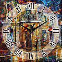 Годинник настінний Картина маслом