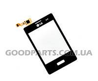 Тачскрин (сенсорный экран) для мобильного телефона LG (Копия) E400 Optimus L3 EBD61365502