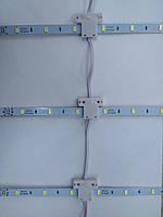 Линейка (Сетка) SMD 5730 для подсветки Лайтбоксов (10 шт)