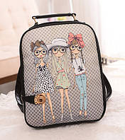 Модные рюкзаки с принтами