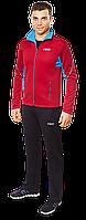 Красный спортивный костюм F50 мужской (р. 46-54) арт. 237Е