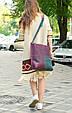 Женская сумка из кожи Квадрат Babak 888066/77, фото 4
