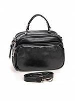 Кожаная женская сумка 2845 Black