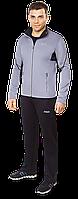 Светло-серый спортивный костюм F50 мужской (р. 46-54) арт. 237F
