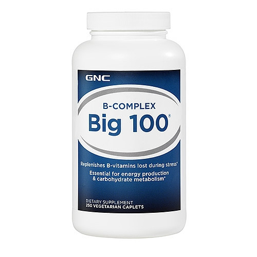 GNC BIG 100, 250 caplets