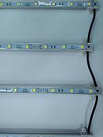 Линейка (Сетка) SMD 5050 для подсветки Лайтбоксов (10 шт)
