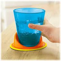 Набор детских стаканов поильники с подставкой 4 шт Fisher-Price Y3536
