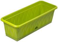 """Ящик для растений """"Сиена"""" 58см с поддоном"""