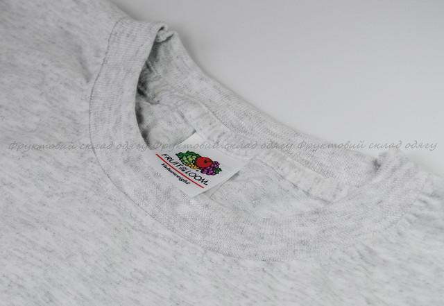 Пепельная мужская классическая футболка