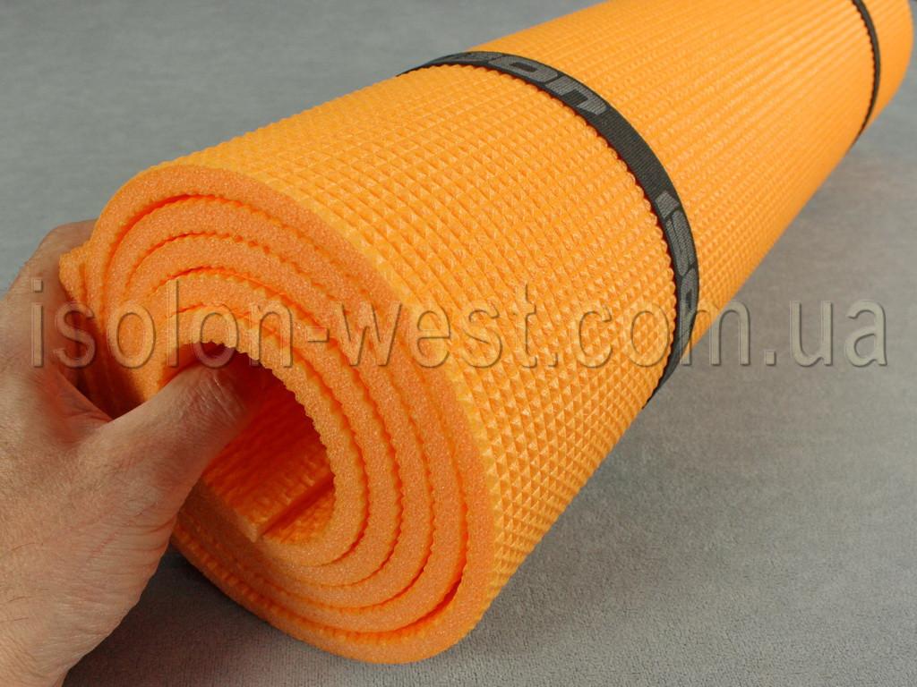 Коврик для йоги и фитнеса - Optima Light 8, размер 60 х 180 см, толщина 8мм.