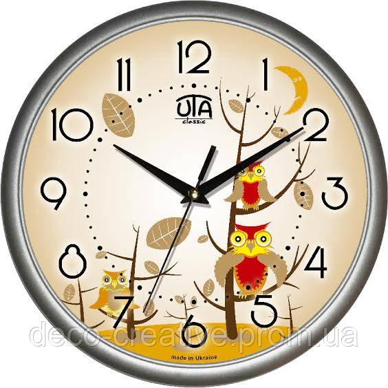 """Годинник настінний ЮТА """"Классика"""" 300Х300Х45мм            01 S 31"""