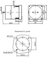 Миллиамперметр М1360  10-0-10 х 0,1 мкА