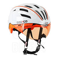 Велошлем Casco PEEDster-TC plus white-orange, ONLY VO (MD 15)
