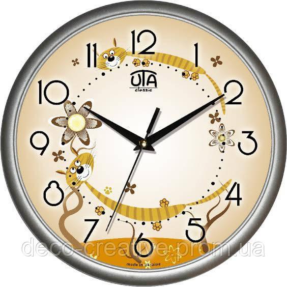 """Годинник настінний ЮТА """"Классика"""" 300Х300Х45мм            01 S 32"""