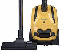 Пылесос с мешком для пыли ROTEX RVB03-p: 1500 Вт, регулировка мощности, шнур 5 м, пылесборник 2 л