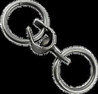 Вертлюг кільце-кільце 6мм