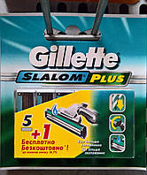 Gillette SLALOM PLUS (6 шт)