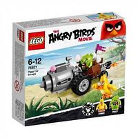 LEGO Angry Birds ПОБЕГ НА АВТОМОБИЛЕ СВИНОК 75821