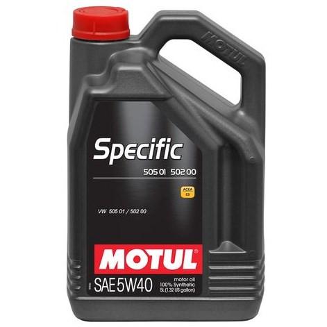Масло моторное Motul Specific VW 505.01-502.00-505.00 5W-40 5л