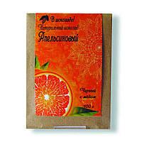 Шоколад ручной работы с апельсиновой цедрой 100 г