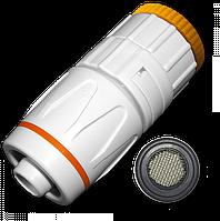 """JAPAN SYSTEM Коннектор 1/2"""" РВ с редуктором 3/4"""" / 1/2"""" с фильтром"""