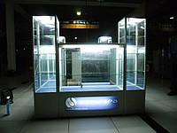 Витрина из алюминиевого профиля, фото 1