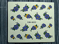 Слайдер-дизайн №8022  (водные наклейки)