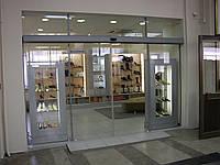 Автоматические раздвижные двери для магазинов